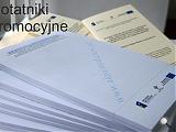 notatniki promocyjne - MZDiT