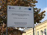 Tablica Informacyjna od strony Placu Daszyńskiego - autor foto: Joanna Holi-Sosnowska